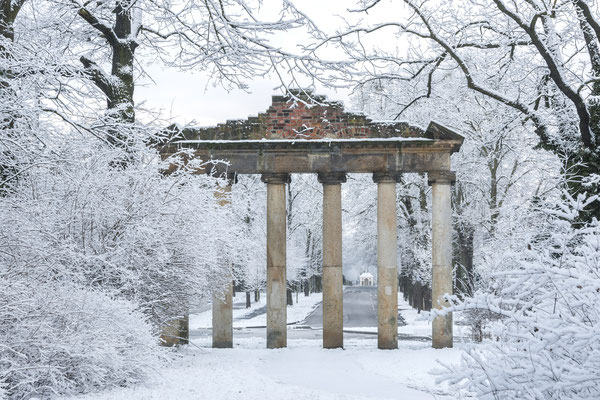Dezember - Die Sieben Säulen im Georgengarten