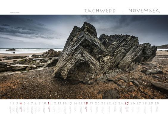 Calendar Wales 2018, Marloes Sands