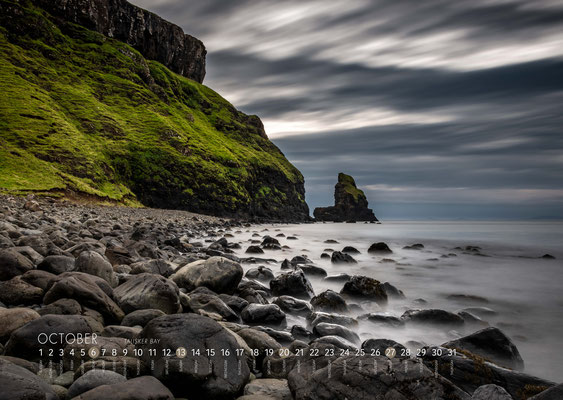 Kalender Isle of Skye 2019, Talisker Bay