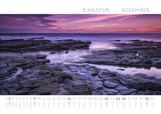 Calendar Wales 2018, Nash Point
