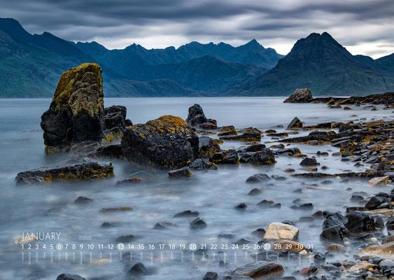 Kalender Isle of Skye 2019, Elgol