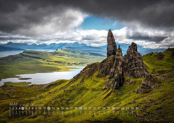 Kalender Isle of Skye 2019, Old Man of Storr