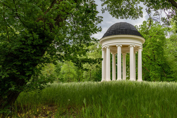 Juni - Ionischer Tempel im Dessauer Georgengarten