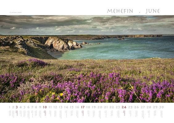 Calendar Wales 2018, St.Govan's Head
