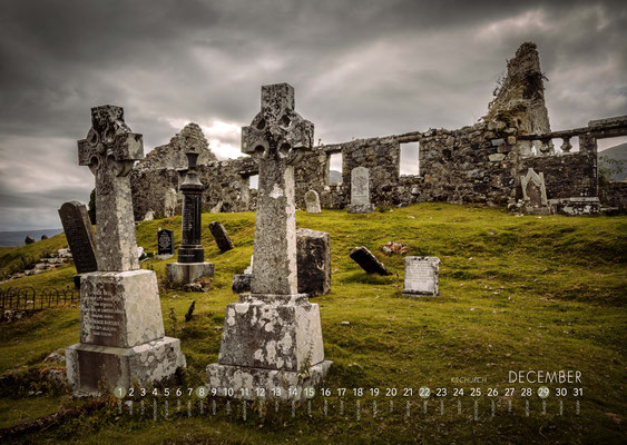 Kalender Isle of Skye 2019, Church of Kilchrist