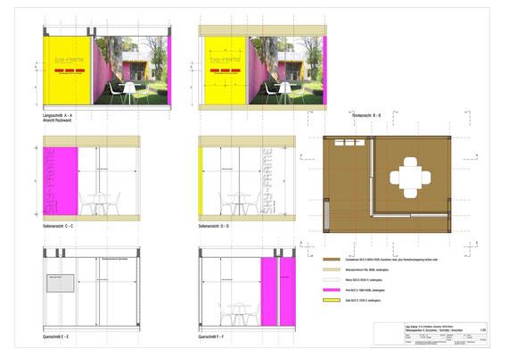 Hopf & Wirth Architekten, Ausstellungspavillons SKY-FRAME 1 - 6, Pavillon 4