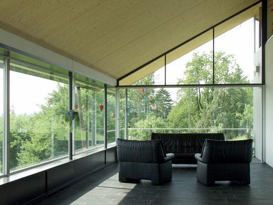 Hopf & Wirth Architekten ETH HTL SIA Winterthur, Neubau Wohnhaus in Ottoberg, TG