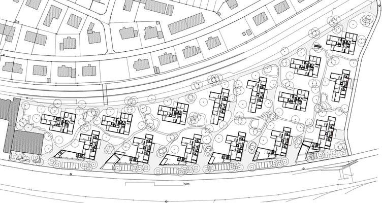 Hopf & Wirth Architekten ETH HTL SIA Winterthur, Neubau Wohnüberbauung Talwies, Winterthur, AXA Winterthur