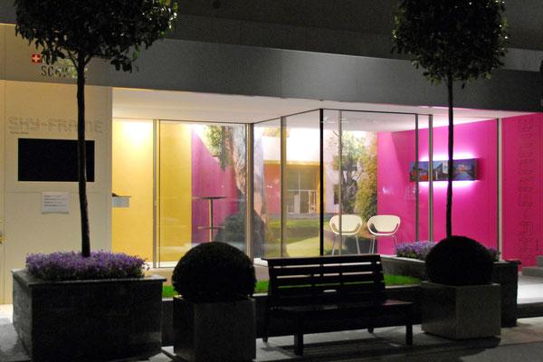 Hopf & Wirth Architekten, Ausstellungspavillons SKY-FRAME 1 - 6, Pavillon 3