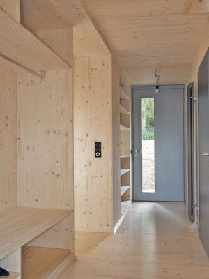 Hopf & Wirth Architekten ETH HTL SIA Winterthur, Neubau Wohnhaus in Boll, BE