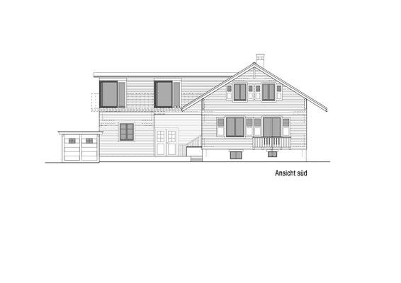 Hopf & Wirth Architekten ETH HTL SIA Winterthur, Erweiterung / Umbau Haus in Burgdorf