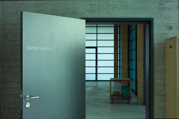 Foto: Christian Schwager / Hopf & Wirth Architekten ETH HTL SIA Winterthur, Neubau Erweiterung Werkhof Pfäffikon
