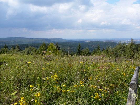 Überwältigende Aussicht vom preußischen Velmerstot über den Teutoburger Wald