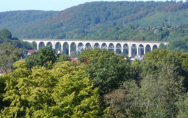 Der denkmalgeschützte Eisenbahnviadukt von Altenbeken