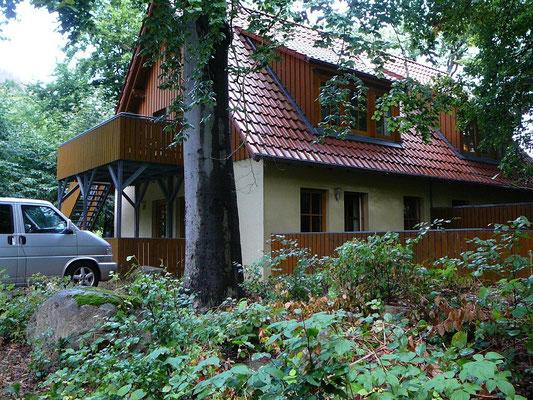 Unsere Unterkunft super gelegen am Rande von Ilsenburg