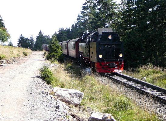 Die berühmte Brockenbahn