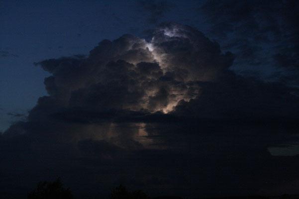 Ein spektakuläres Gewitter