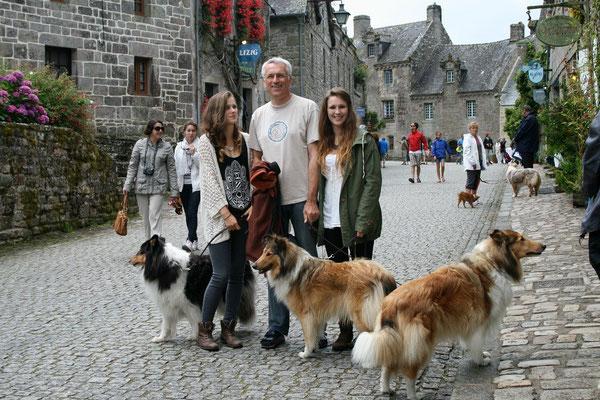 Besuch in dem wunderschönen Städtchen Locronan