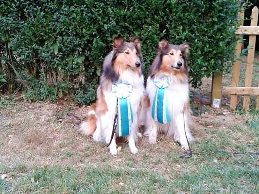 Mutter und Tochter hundesportlich erfolgreich unterwegs ;)