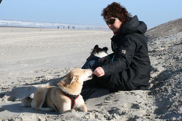 Essenspause; Gabi & Bebi; Norderney