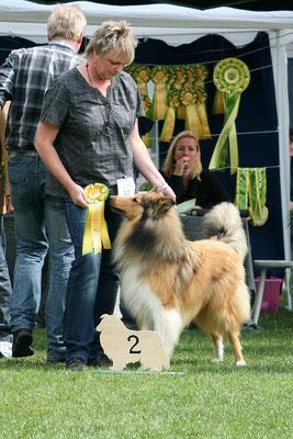 Bjraki erreicht bei großer Konkurrenz einen sagenhaften 2. Platz!