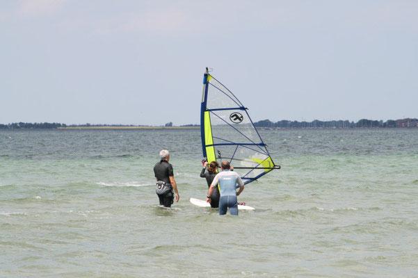 Andi's Surfschule mit Kathi und Uli