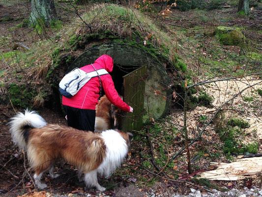 "Hobbithöhle auf der ""Öhlmühlentour"""