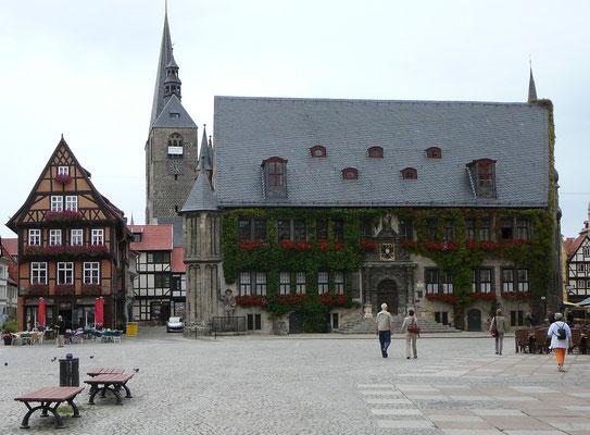 Ausflug in die Fachwerkstadt Quedlinburg