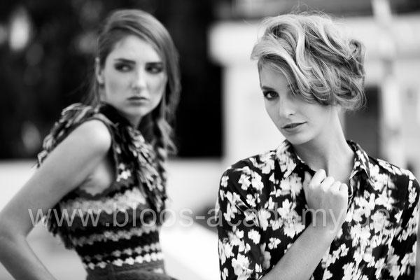 MUA: Azzurra M., Katharina M. Styling: Nicole Dannecker Model: Diana Sch., Helena H. c/o Java Models Foto: Markus Thiel