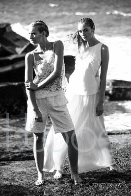 MUA: Julia A., Timea F. Styling: Nicole Dannecker Model: Diana Sch., Helena H. c/o Java Models Foto: Markus Thiel