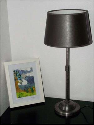 Illustration à l'aquarelle réalisée par Cloé Perrotin personnalisée sur le thème de la paix avec citation - pour les 80 ans d'une mamie