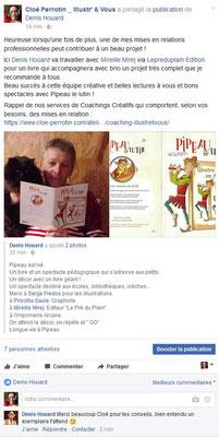 Service de mise en relation professionnelle entre un artiste et un éditeur imprimeur par Cloé Perrotin de l'entreprise Illustr'&Vous