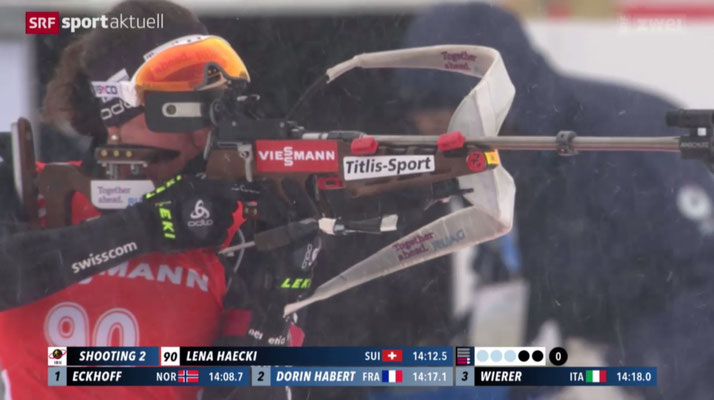 WM Oslo - Sprint - Screenshot SRF Sport Aktuell