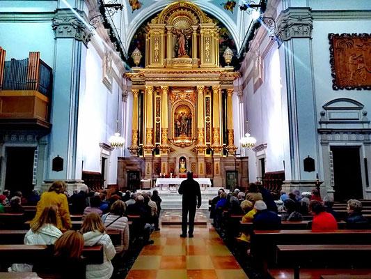 altar iglesia benicarlo