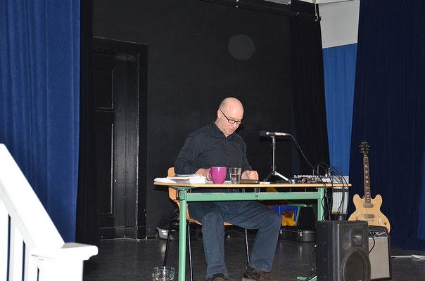 Helge Stroemer, Lesung mit Musik