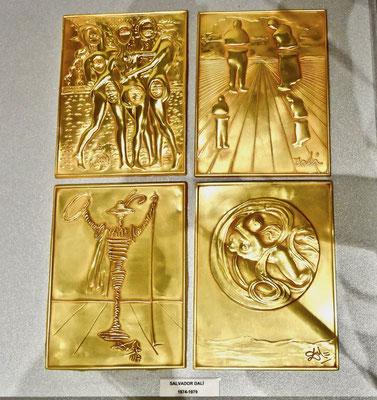 Unoaerre, Arezzo, arte, oro, Salvador Dalì