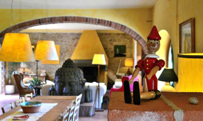 Pinocchio, Villa, Casafredda, Arezzo, Toscana, Tuscany, Italy