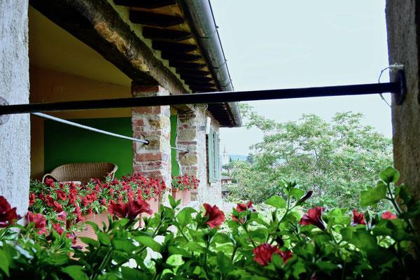 terrace, villa, Casafredda, Arezzo, Toscana, Tuscany, agriturismo, casa vacanza