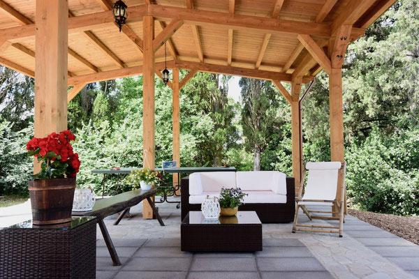External lounge,  villa, Casafredda, Arezzo, Toscana, Tuscany, Agriturismo, casa vacanza