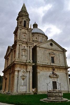Tempio di San Biagio, Montepulciano, Val di Chiana, Siena, Toscana, Tuscany