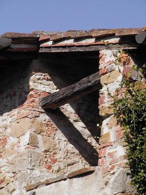 Stone House, roof, veranda, Villa, Casafredda, Arezzo, Toscana, Tuscany, Italy