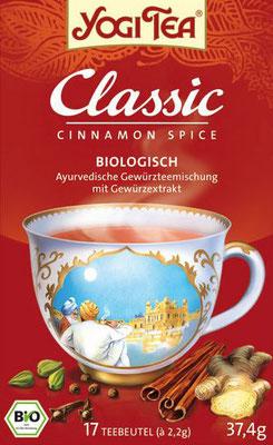 YOGI TEA® Classic ist der Tee mit dem alles begann - Yogi Tee ist mehr als einfach nur eine ayurvedische Teemischung!