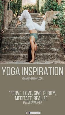 Briohny Smyth Yoga Inspiration