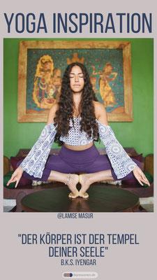 @Lamise Mansur - Traumhafte Yoga Asanas: Harmonie für Körper und Geist