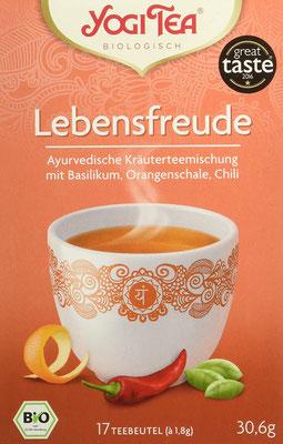 Yogi Tea Lebensfreude Bio - Empfehlung Der Genuss dieses köstlichen Tees wärmt unsere Seele
