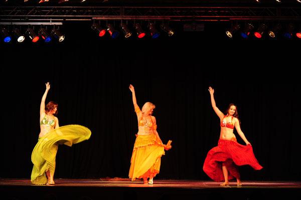 Shayna, Shalimar und Leela beim Orientfestival in Bonn