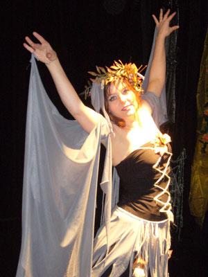 Tanztheater (Leela als Windgeist)