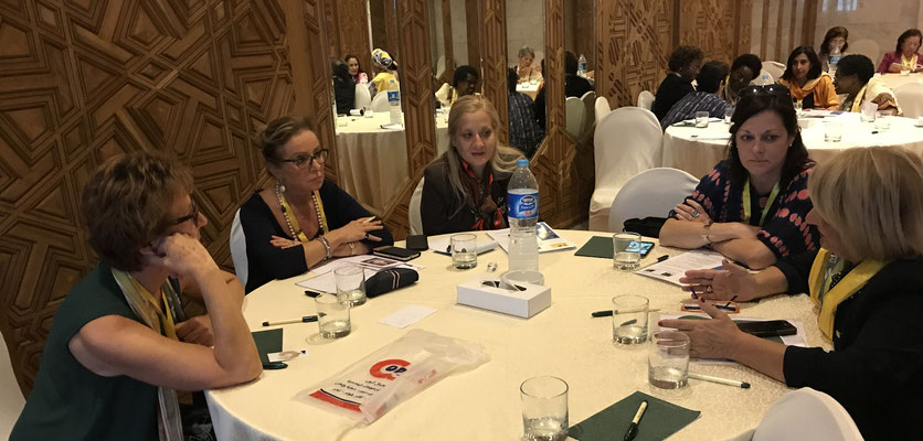 Participants Leadership Workshop, BPW International Cairo Congress 2017