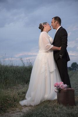 mariage, photographe mariage,Normandie,portrait couple, photos de couple,trash the dress,