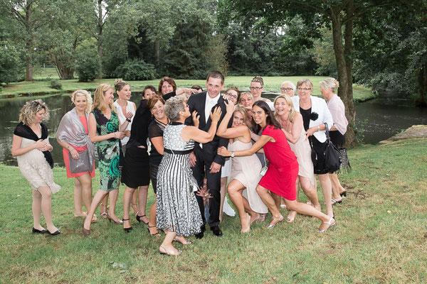 mariage, photographe mariage,Normandie,portrait groupe , photos de groupe